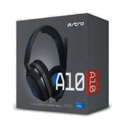 Auriculares Gaming Astro A10 Grey/Blue box
