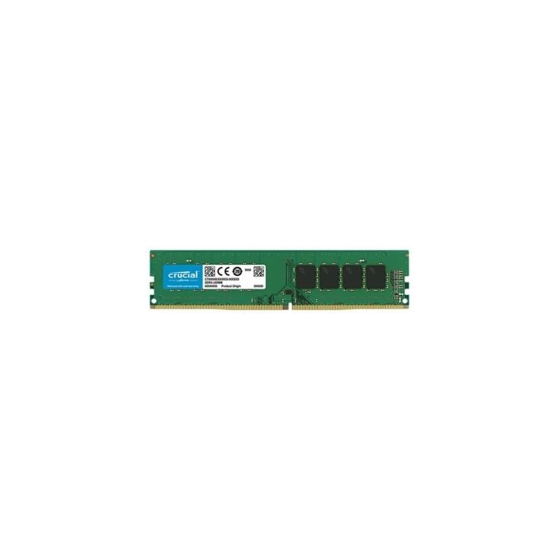 Memoria CRUCIAL DDR4 8GB 2666MHz UDIMM
