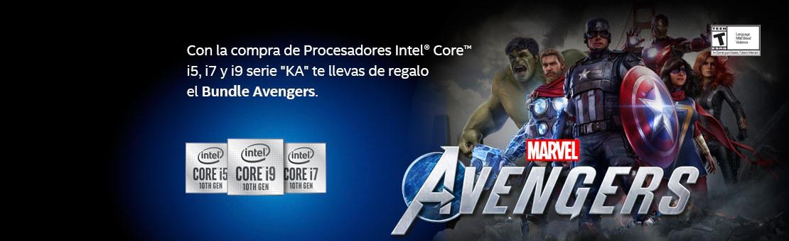 Avengers promo Intel KA